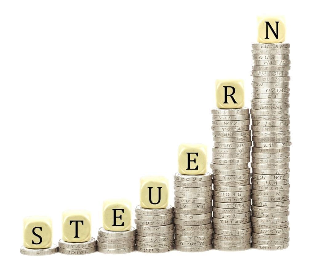 Виды налогов в ФРГ
