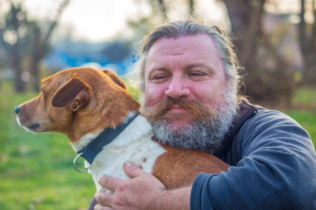 Собака после развода