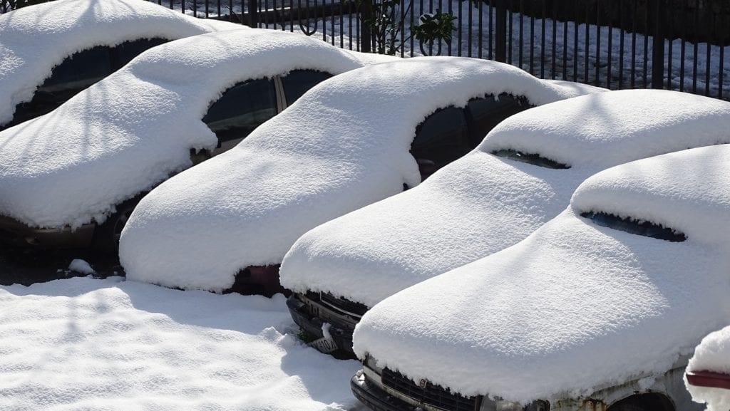 Автовождение зимой в Германии