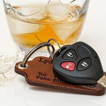 Спиртное и ключи от машины